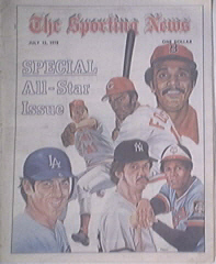 The Sporting News 7/15/1978 SPECIAL ALL-STAR ISSUE