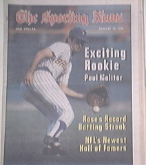 The Sporting News 8/12/1978 Paul Molitor,Pete Rose