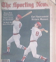 The Sporting News 9/15/1979 Carl Yastrzemski cover
