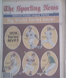 The Sporting News 10/20/1979 - 1979 Series MVP?