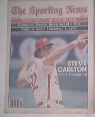 The Sporting News 6/21/1980 Steve Carlton cover