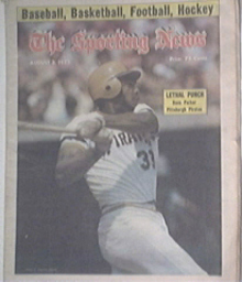 The Sporting News 8/2/1975 DAVES PARKER Pirates cov
