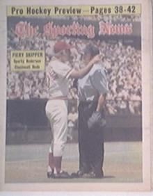 The Sporting News 10/11/1975 SPARKEY ANDERSON