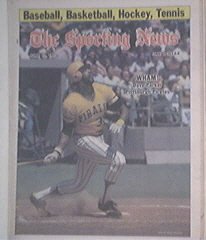 The Sporting News 6/11/1977 DAVE PARKER Cover