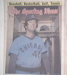 The Sporting News 6/25/1977 BRUCE SUTTER Cover