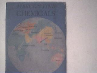 1933 A Chemical Almanack MercK & Co