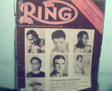 Ring Magazine-8/85 Spings, Jake LaMotta,Frazier!