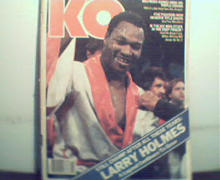 KO-10/85 Holmes, Spinks, Breland, Gomez, WBA/WBC Rating