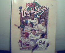 1987 World Series-Program-What did Hank A say to Yogi?