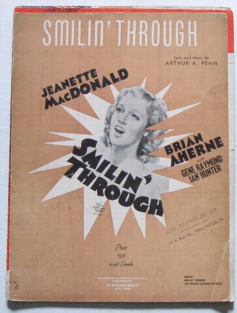Smilin' Through -1925 Jeanette MacDonald / Brian Aherne