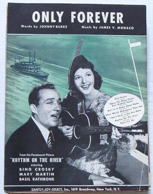 Only Forever-Bing Crosby,MaryMartin-Rhythm on the River