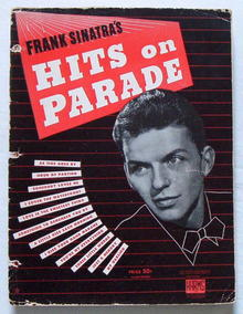 Frank Sinatra's Hits on Parade- 1943 songs/ sheet music