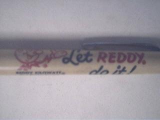 c1940 REDDY KILOWATT DurOLite Led Pencil