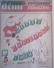 GENII Magazine 12/1956 MERRY CHRISTMAS ISSUE