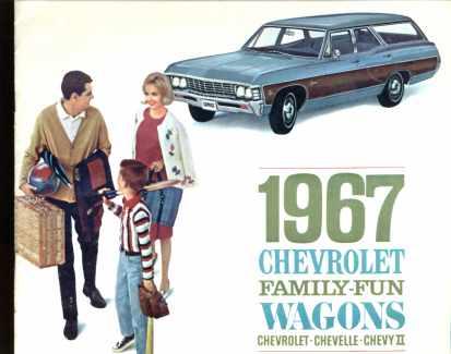 Chevrolete Family Fun Wagons 1967