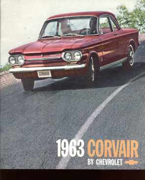 Corvair by Chevrolet 1963 great art
