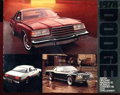 1978 Dodge Sales Photo Booklet Aspen Colt
