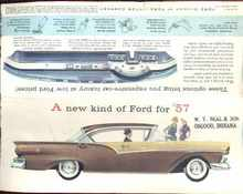 A New Kind of Ford for '57 ad great artwork
