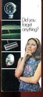 Chrysler Mopar Products Brochure 1981