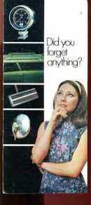 Chrysler Mopar Products Brochure 1981