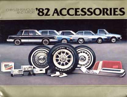 Chrysler Plymouth & Import '82 Accessories
