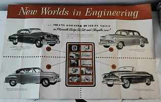 New Worlds of Engineering Exhibit 1950s post