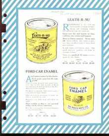 Dealers Ad 1925 Ford Car Enamel & Leath-R-Nu
