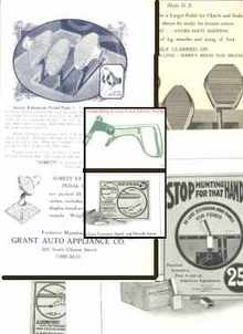 1925 Ford Handle, Pedal & More Extensions Ads