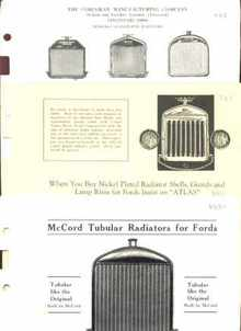 1925 Ford Radiators Dealers Ads Illustrated
