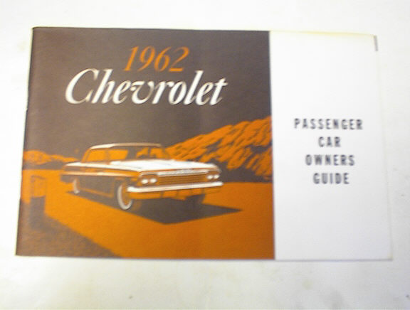 1962 Chevrolet Passenger Car Owners Guide