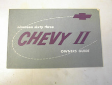 1963 Chevy II Owner's Guide