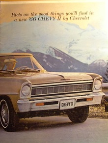 1966 Chevy II color Brochure
