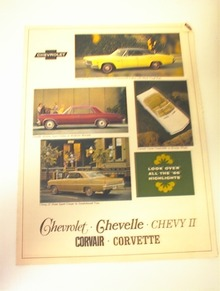 1966 Chevrolet-Chevelle-ChevyII-Corvair-