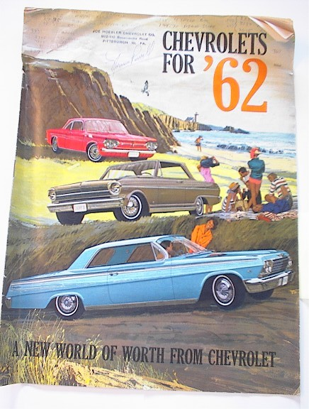 Chevrolets for 1962 Brochure,Greenbrier SW