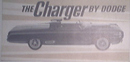 The Charger By Dodge Brochure with Great Photos