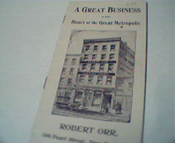 Robert Orr Auction Goods in New York City