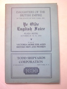 Daughters Of The British Empire Plaza Hotel
