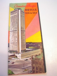 1960's Caradian Pacific Hotels Brochure