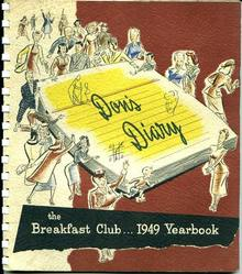 Don's Breakfast Club Diary, 1949