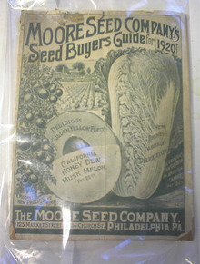 Moore Seed Company Seed Buyers Guide,1920