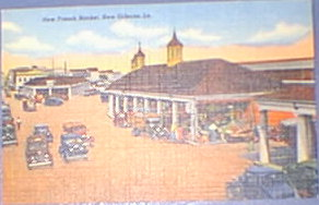 New French Market New Orleans La. 1920's