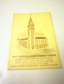 1930's The Daniels And Fisher Tower