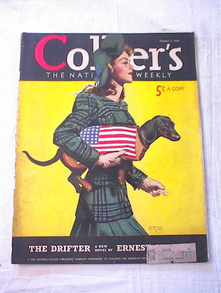 Collier's Weekly 11/5/1950 Martha Sawyers cov