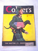 Collier's Weekly 11/5/1950 Martha Sawyers cov