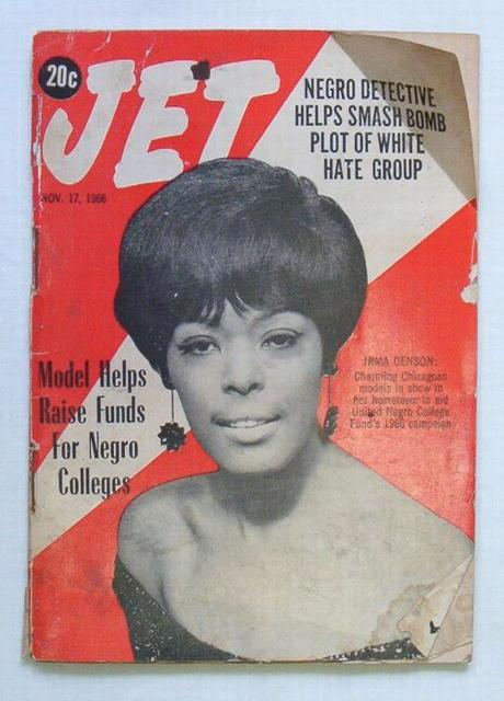 JET 11/17/66 Irma Denson helps Negro Colleges