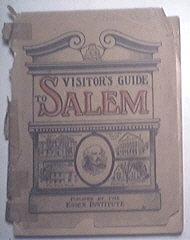 Visitor's Guide to Salem, Essex Inst., 1916