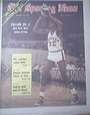 The Sporting News 1/12/1974 DR. J - Julius Erving Cover