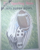 The Sporting News 1/13/1973 1973 SUPER BOWL