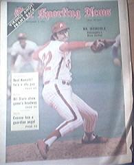 The Sporting News 9/2/1972 Steve Carlton Cover