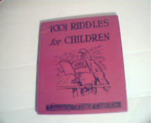1001 Riddles for Children! cmpiled by George Carlson!